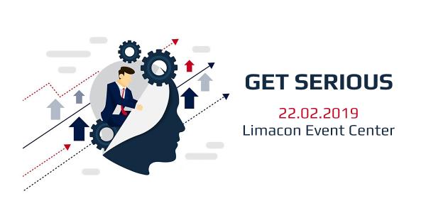 Get Serious - събитие, което ще се проведе на 22.02 от 18:00 . Лектор на събитието ще бъде Тодор Терзиев.